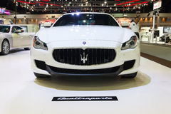NONTHABURI - DECEMBER 8 : Maserati Quattroporte car Stock Photos