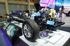 NONTHABURI - DECEMBER 1: Naket eller avtäck Mitsubishi nya Triton Royaltyfri Foto