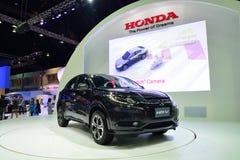 NONTHABURI - DECEMBER 1: New Honda HR-V car display at Thailand Royalty Free Stock Images