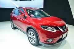 NONTHABURI - DECEMBER 1: New Nissan x-trail, SUV car display at Royalty Free Stock Photo
