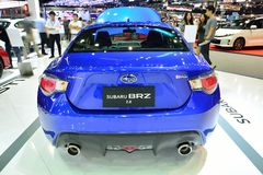 NONTHABURI - 1 DECEMBER: Subaru BRZ 2 0 autovertoning in Thailand Royalty-vrije Stock Afbeelding