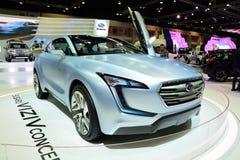NONTHABURI - DECEMBER 1: Subaru VIZIV concept car display at Tha Royalty Free Stock Photo