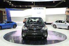 NONTHABURI - LISTOPAD 28: Subaru Forester 2,0 samochód na pokazie przy Obraz Stock