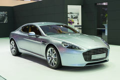 NONTHABURI - MARCH 23: NEW Aston Martin Rapide S on display at T Stock Photo