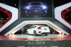 NONTHABURI - MARCH 23: NEW Honda Civic 2016 on display at The 37 Stock Photography