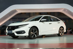 NONTHABURI - MARCH 23: NEW Honda Civic 2016 on display at The 37 Royalty Free Stock Photography