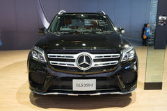 NONTHABURI - MARCH 23:NEW Mercedes Benz Gls 350d AMG premium on Royalty Free Stock Images