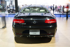 NONTHABURI - MARCH 23:NEW Mercedes Benz Gls S500 Coupe AMG on di Royalty Free Stock Images
