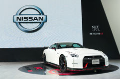 NONTHABURI - MARCH 23: Nissan GTR Nismo on display at The 37th B Stock Photography