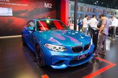 NONTHABURI - MARZEC 23: NOWY BMW M2 Coupe na pokazie przy 37th b Zdjęcia Royalty Free