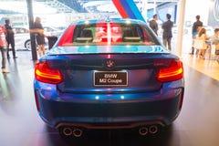 NONTHABURI - MARZEC 23: NOWY BMW M2 Coupe na pokazie przy 37th b Obrazy Royalty Free