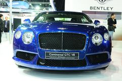 NONTHABURI - NOVEMBER 28: Bentley continental GTC V8, Luxury car Stock Photos