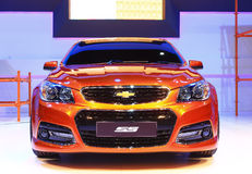 NONTHABURI - NOVEMBER 28: Chevrolet SS car on display at The 30 Royalty Free Stock Photography