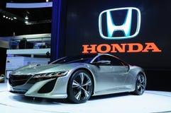 NONTHABURI - 28. NOVEMBER: Honda NSX-Konzept, hybrides Sport concep Lizenzfreie Stockfotografie