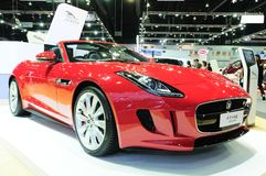 NONTHABURI - NOVEMBER 28: Jaguar F-type, sport convertible car, Stock Photos