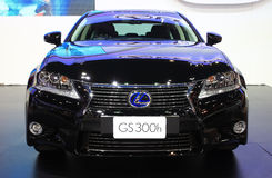 NONTHABURI - NOVEMBER 28: Lexus GS300h car on display at The 30t Royalty Free Stock Photo