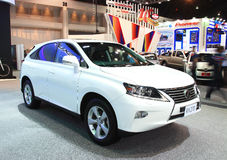 NONTHABURI - NOVEMBER 28: Lexus RX270 car on display at The 30th Stock Photo