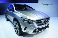 NONTHABURI - NOVEMBER 28: Mercedes Benz GLA concept, concept cro Stock Photo