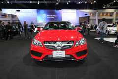 NONTHABURI - NOVEMBER 28:Mercedes-Benz The New E-Class Cabriolet Stock Images