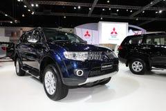 NONTHABURI - NOVEMBER 28: Mitsubishi JAJERO SPORT car on display Royalty Free Stock Photo
