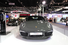 NONTHABURI - NOVEMBER 28: Porsche 911 car on display at The 30th Royalty Free Stock Images