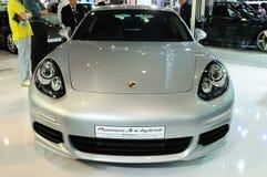NONTHABURI - NOVEMBER 28: Porsche panamera s e-hybrid, Hybrid sp Stock Images