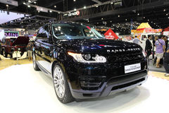 NONTHABURI - NOVEMBER 28: Range Rover The All New Range Rover Sp Royalty Free Stock Images
