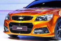NONTHABURI, TAILÂNDIA - 1º DE DEZEMBRO: Carro de Chevrolet SS na exposição Imagem de Stock Royalty Free