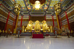 Nonthaburi Tailandia del bangboutong di Wat lengneayyi2 Fotografia Stock Libera da Diritti