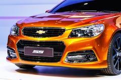 NONTHABURI, TAILANDIA - 1° DICEMBRE: Automobile di Chevrolet ss su esposizione Fotografia Stock