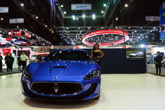 NONTHABURI, THAILAND - December 06: The Maserati Gran Turismo MC Royalty Free Stock Images
