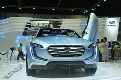 NONTHABURI, THAILAND - 6. Dezember: Das Konzept Subarus Viziv ist lizenzfreie stockfotografie