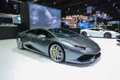 Nonthaburi, THAILAND 31 Maart, 2016: De super auto van Lamborghini op D Royalty-vrije Stock Foto