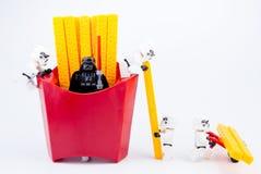 Nonthaburi, Thailand - November, 19, 2016: Lego-Kriege der Sterne stormt Lizenzfreie Stockfotografie