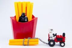 Nonthaburi, Thailand - November, 19, 2016: Lego-Kriege der Sterne stormt Stockfoto