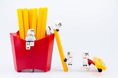 Nonthaburi, Thailand - November, 19, 2016: Lego-Kriege der Sterne stormt Stockfotografie