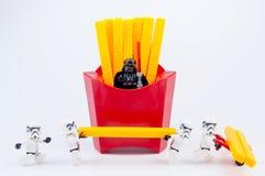 Nonthaburi, Thailand - November, 19, 2016: Lego-Kriege der Sterne stormt Lizenzfreies Stockbild