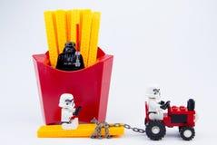 Nonthaburi, Thailand - November, 19, 2016: Lego-Kriege der Sterne stormt Lizenzfreie Stockbilder