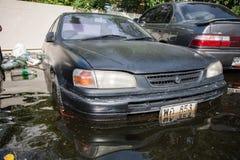 Nonthaburivloed in Thailand de 2011-levensstijl van mensen in mas Royalty-vrije Stock Foto's