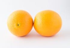 Nontoxic orange on white background Stock Photography