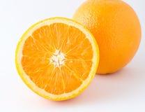Nontoxic orange on white background Stock Photo