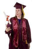 Nontraditional Student Graduating Stock Images