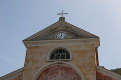 Nonza,欧特Corse,可西嘉岛,上部可西嘉岛,法国,欧洲,海岛 库存照片
