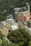 Nonza, Corsica. Nonza, beautiful village in Corsica stock photos