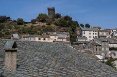 Nonza, Haute-Corse, Corsica, Hoger Corsica, Frankrijk, Europa, eiland Stock Foto