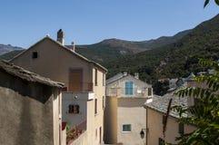 Nonza Haute-Corse, Corsica, Hoger Corsica, Frankrijk, Europa, eiland Stock Afbeelding