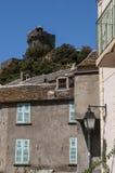 Nonza, Haute-Corse, Corsica, Hoger Corsica, Frankrijk, Europa, eiland Stock Afbeelding