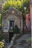 Nonza Haute-Corse, Corsica, Hoger Corsica, Frankrijk, Europa, eiland Royalty-vrije Stock Fotografie