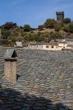 Nonza Haute Corse, Korsika, övreKorsika, Frankrike, Europa, ö Arkivbild