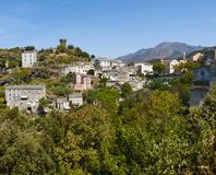 Nonza Haute Corse, Korsika, övreKorsika, Frankrike, Europa, ö Royaltyfri Foto
